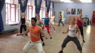 Zumba Fitness в гостях у Школы Владимира Батия