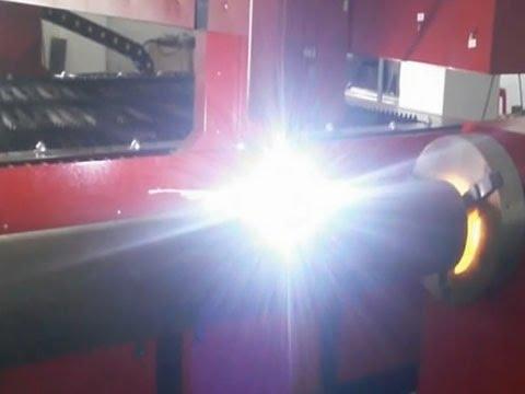 CNC Plasma Cutting Machine For Square Tube  And Round Tube