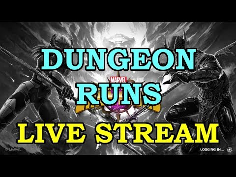 Dungeons Runs with KAM | Marvel Contest of Champions Live Stream