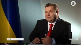 Степан Полторак: велике ексклюзивне інтерв'ю міністра оборони