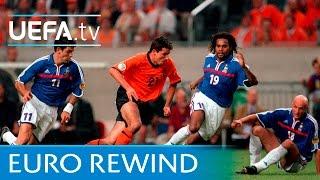 EURO 2000 highlights: France 2-3 Netherlands