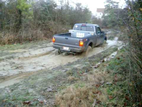 Ford ranger mudding