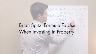 Real Estate Investors Formula To Use When Buying Property - Big State Tutorial