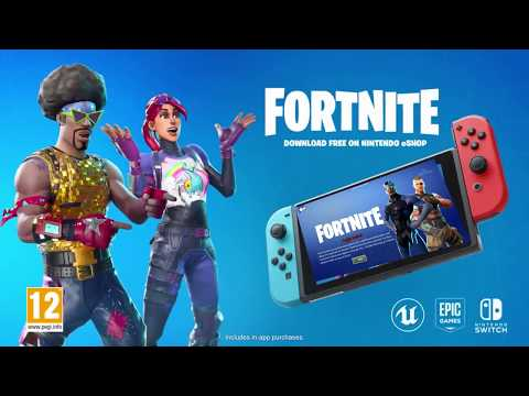 Fortnite Nintendo Switch Trailer Done Correctly