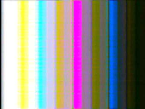 test card - analog tv color noise - PAL B/G (1) - YouTube