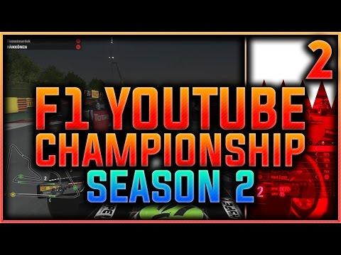 F1 2016 Youtuber Championship Part 2: TURN 1 CALAMITY