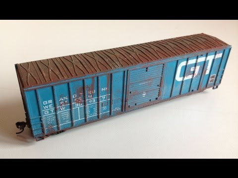 Quick & Easy RUST Weathering Model Rail Railroad