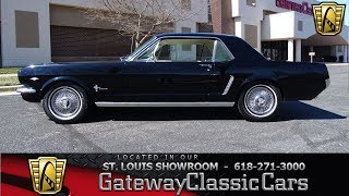 1964 5 Ford Mustang Stock #7632 Gateway Classic Cars St. Louis Showroom