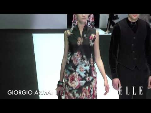 Giorgio Armani. Milan Fashion Week. Otoño / invierno 2016-2017