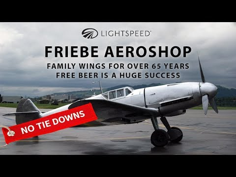 Aviation No Tie Downs: Family wings for 65 years; Free beer is a huge success