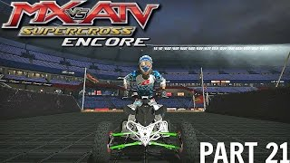 MX vs ATV Supercross Encore! - Gameplay/Walkthrough - Part 21 - Quad Up!