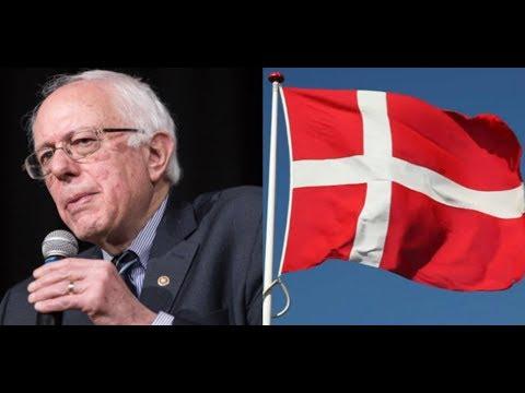 Bernie Sanders Talks To Social Democrat Politician From Denmark