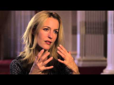 Interview with Gillian Anderson, on police drama