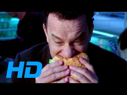 The Terminal (2004) - Quarters And Burger King Scene [1080p] Blu-ray