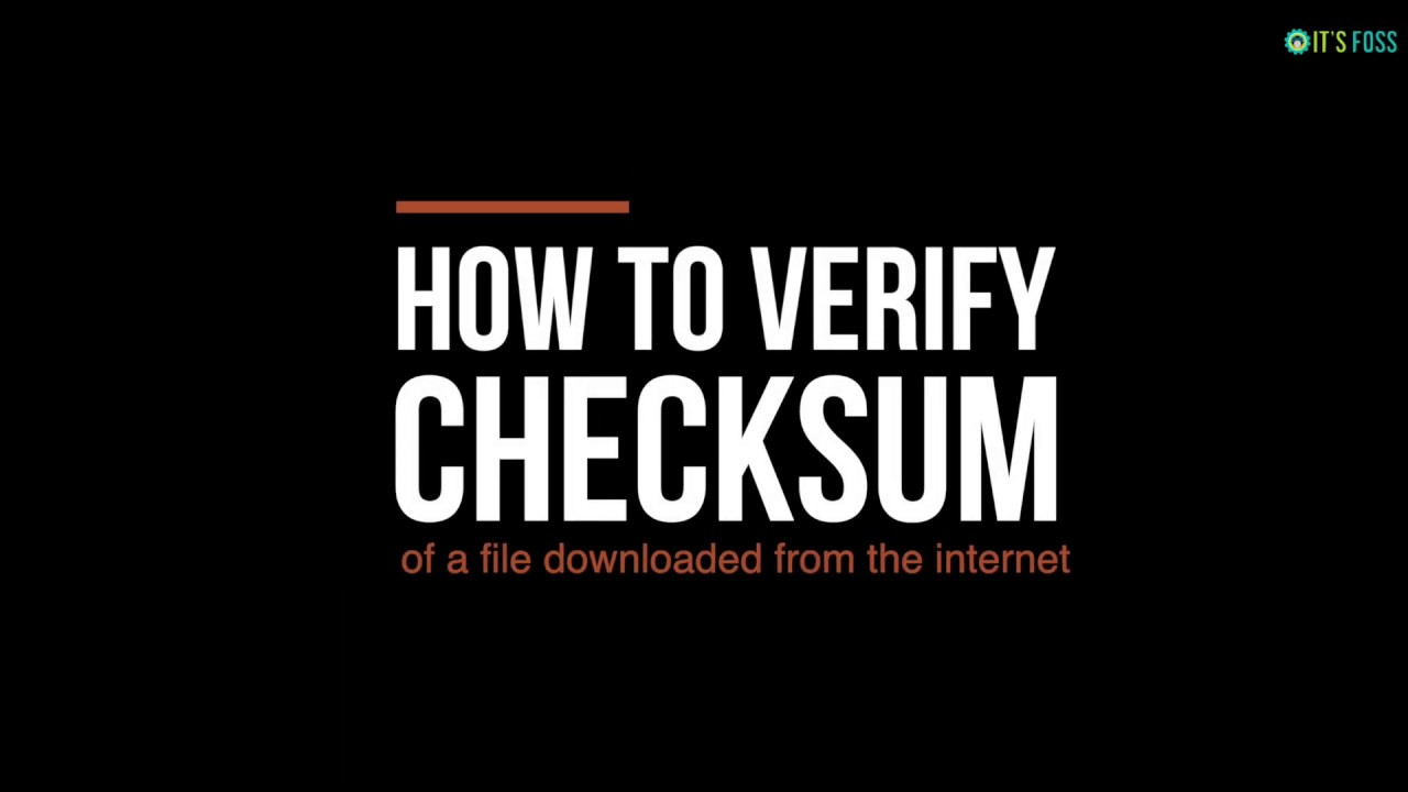 How to Verify Checksum in Linux [MD5, SHA256 & More]