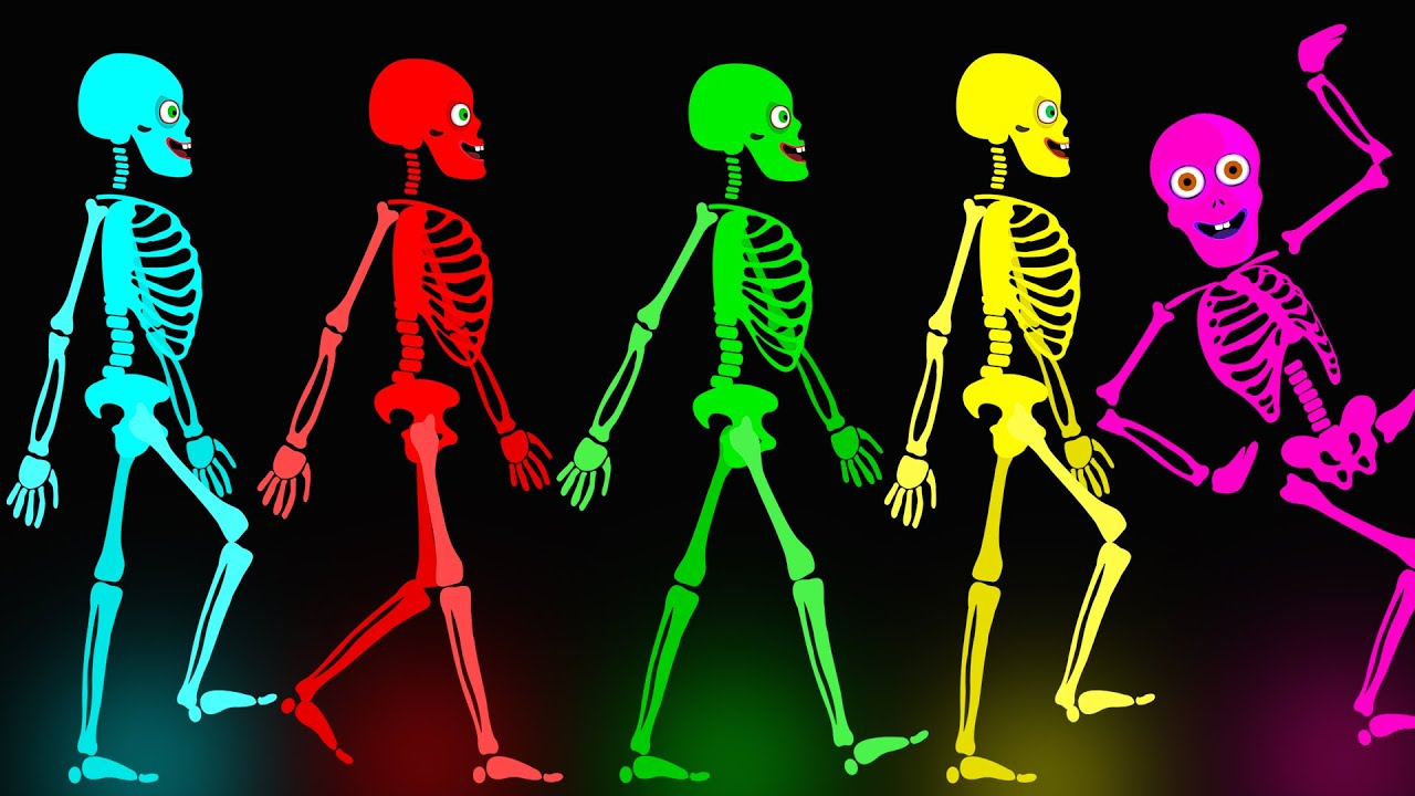 Download Midnight Magic - Five Skeletons Went Out One Night | Fun Skeletons Adventures | Teehee Town Songs