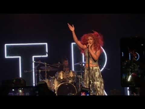 (HD) SZA - Go Gina - Warehouse Live - Houston, TX 10/03/17