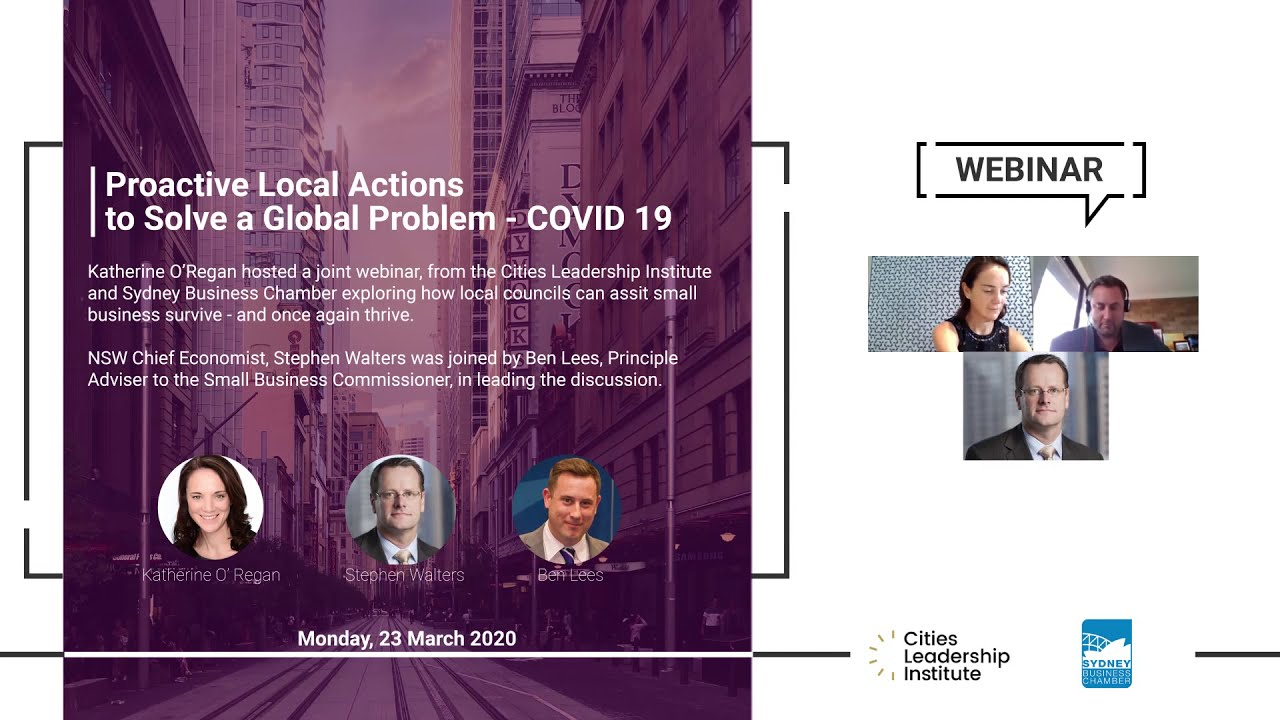 Proactive Local Actions to Solve a Global Problem – COVID 19