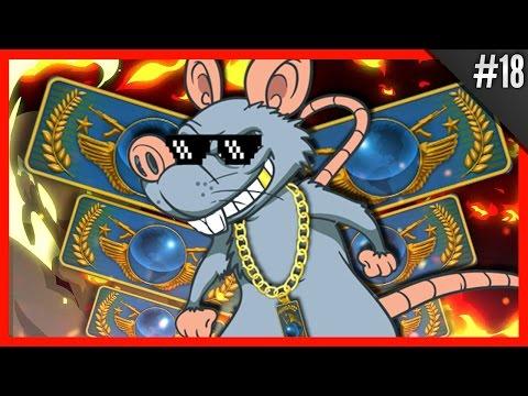 CS:GO ★ FIZ UMA JOGADA MUITO LOUCA - Virando o Rato do Global #18