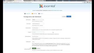 Tutorial: Joomla 3.x  - Grundlagen: 1. Die Installation