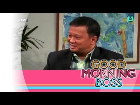 [Good Morning Boss] Panayam kay Atty. Roberto Oliva ukol sa ASEAN Centre for Biodiversity [08|07|15]