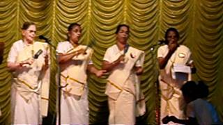 Margam kali pattu by H oly Innocents church Martha Maria samajam 2011