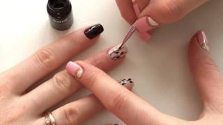 Видео уроки маникюра.Веточки на ногтях,весенний маникюр!