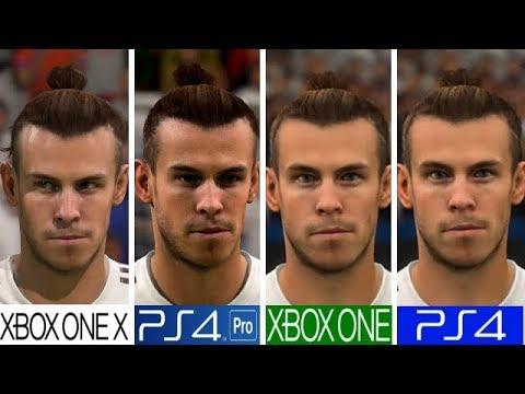 FIFA 19 | Xbox one X VS PS4 Pro VS Xbox One VS PS4 ...Xbox One X Vs Ps4 Pro Graphics