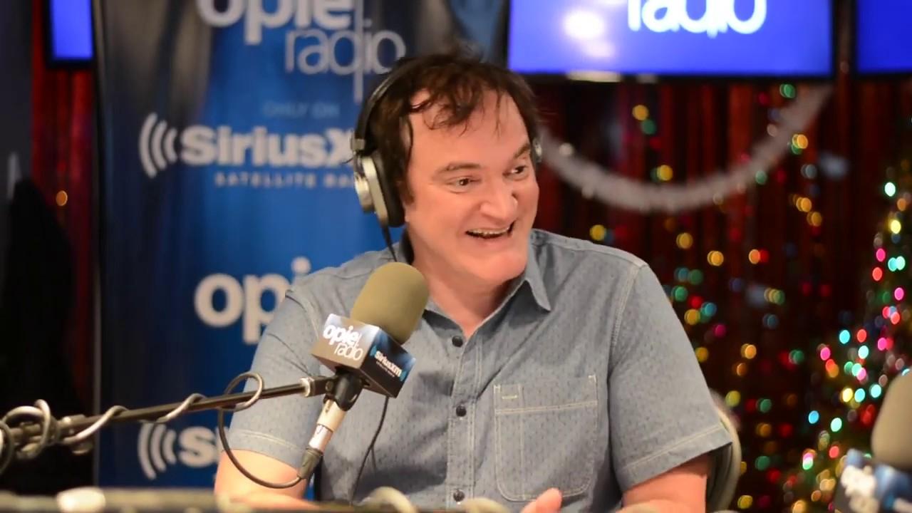 Quentin Tarantino 'Hateful Eight' Full Interview [12-16-2015]