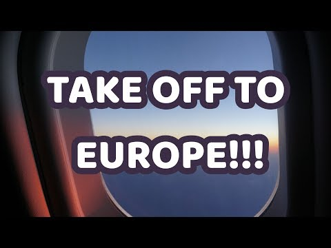 Taking off to Europe! First stop Amsterdam!