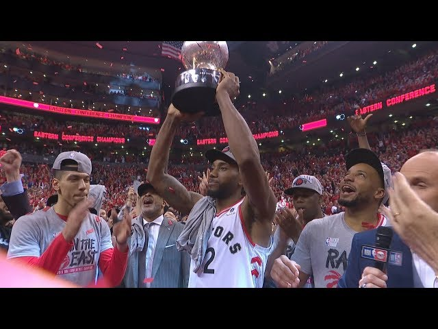 Kawhi Dunks on Giannis! Raptors Advance 1st Finals! 2019 NBA Playoffs
