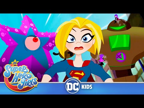 DC Super Hero Girls | BIG vs Small! Featuring Starro | @DC Kids