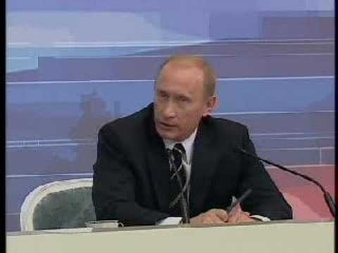 Putin's answear to question about Karabakh problem (Russian)