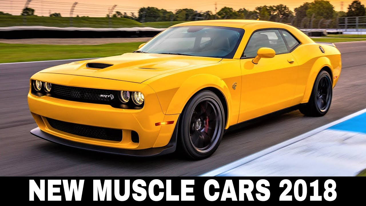 Top Ten Modern Muscle Cars that You Can Buy Today - YouTube