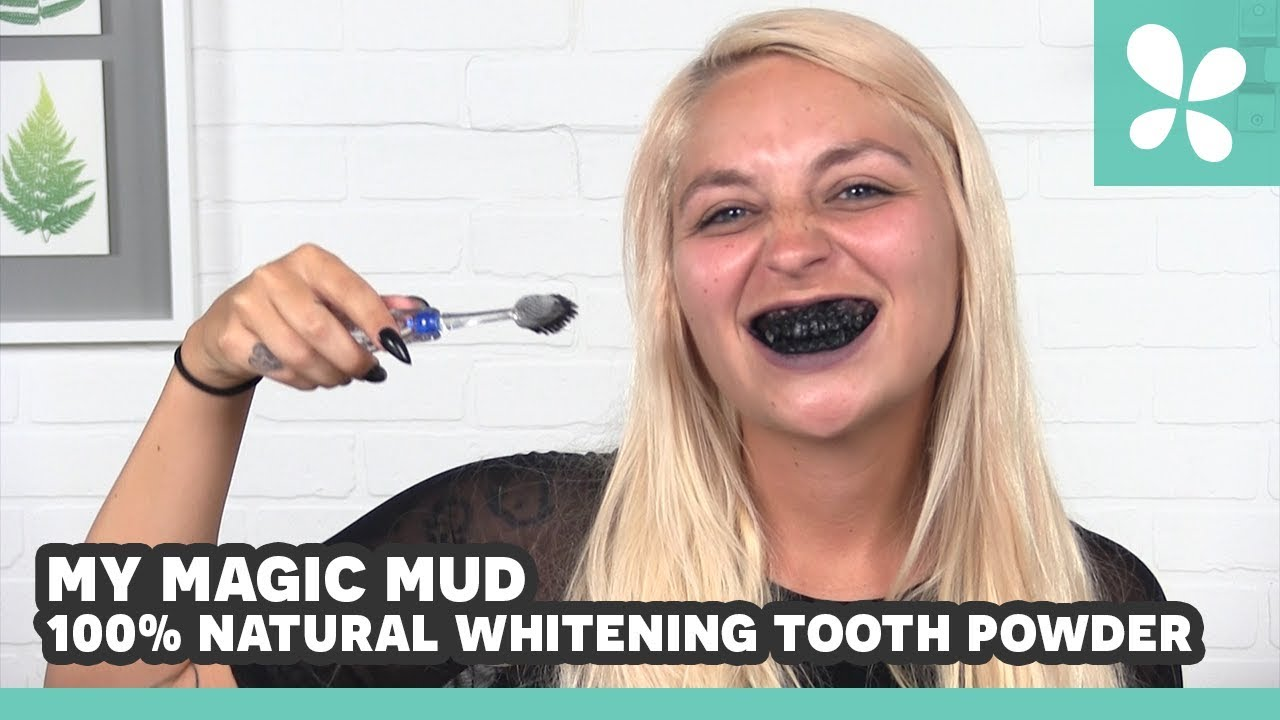 My Magic Mud Natural Whitening Tooth Powder Lucky Pick Review With