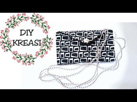 Cara membuat dompet kain
