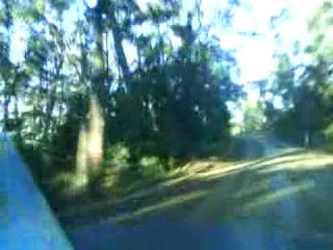 Driving the Gravel Road from Alonna to Cape Bruny - South Bruny Island - May 2010