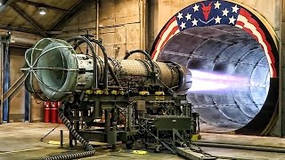 F-16 Jet Engine Test At Full Afterburner In The Hush House thumbnail