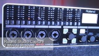 2 Minute Preview Roland Studio Capture