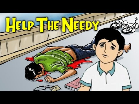 Help The Needy | Moral Values And Moral Lessons For Kids In English | Animated English Stories