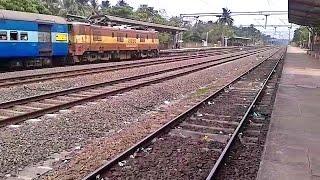 AJJ WAM4 Trivandrum - Korba Superfast Express