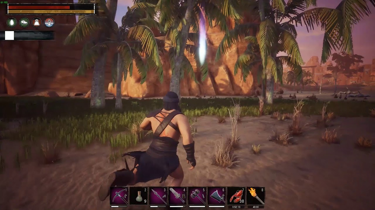 Conan Exiles This Happend After Using A Yellow Lotus Potion Youtube