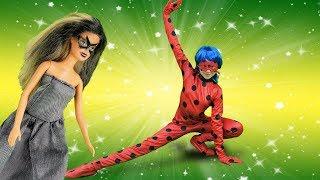 Polen Lady Bug kostümünü giyip kahraman oluyor!