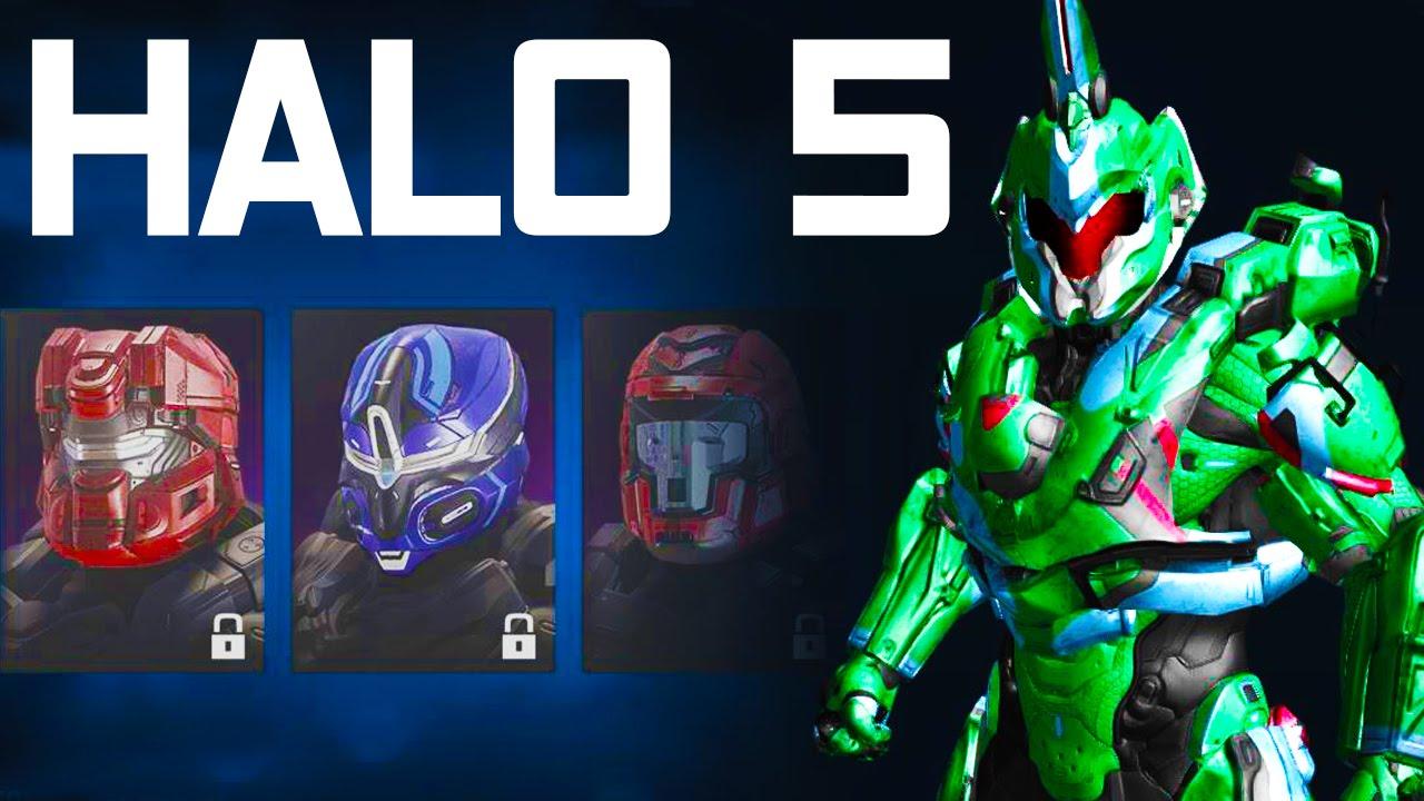 Halo 5 Guardians - ALL CUSTOMIZATION + SPARTAN COMPANIES ...