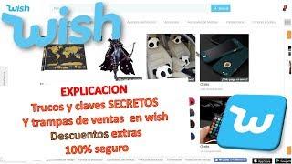 Wish, trucos Descuentos extra!! 100% garantizado 3/4 FULL HD