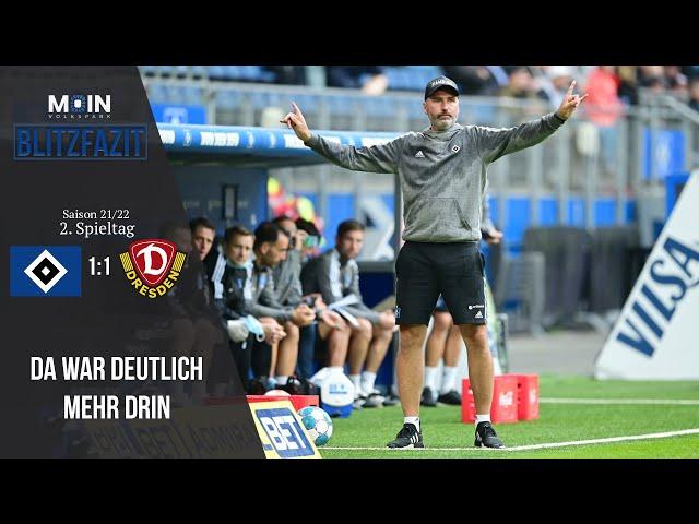 Scholles Blitzfazit zum Spiel   HSV 1:1 Dynamo Dresden / Saison 21/22   #023