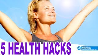Top 5 Life Hacks To Improve Your Health Everyone Should Know