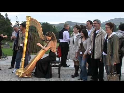 Traditional Irish music for weddings and events, Powerscourt Gardens Ireland
