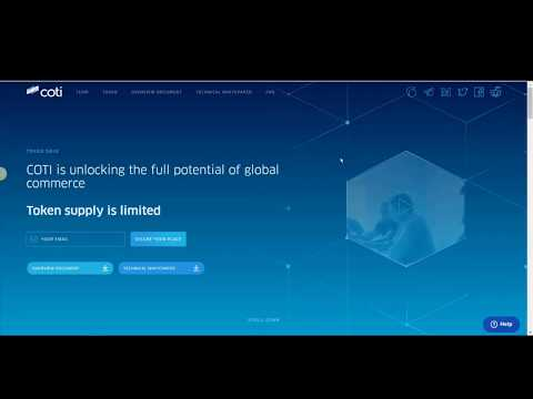 COTI - Digital Currency Built for Payments (ICO REVIeW)