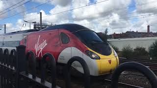 Trains At Wigan north western 11/09/19